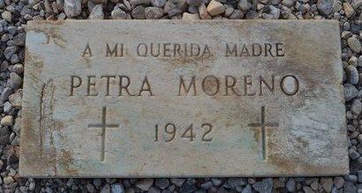 MORENO, PETRA - Pinal County, Arizona | PETRA MORENO - Arizona Gravestone Photos