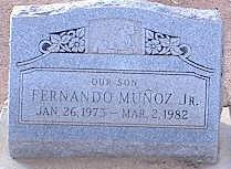 MUNOZ, FERNANDO JR. - Pinal County, Arizona | FERNANDO JR. MUNOZ - Arizona Gravestone Photos