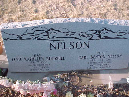 NELSON, CARL  B. - Pinal County, Arizona | CARL  B. NELSON - Arizona Gravestone Photos
