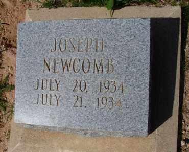 NEWCOMB, JOSEPH - Pinal County, Arizona   JOSEPH NEWCOMB - Arizona Gravestone Photos