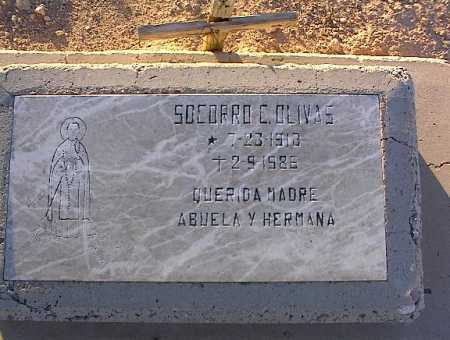 OLIVAS, SOCORRO - Pinal County, Arizona | SOCORRO OLIVAS - Arizona Gravestone Photos