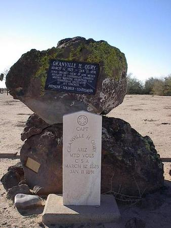 OURY, MONUMENT - Pinal County, Arizona   MONUMENT OURY - Arizona Gravestone Photos