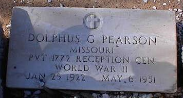 PEARSON, DOLPHUS G. - Pinal County, Arizona | DOLPHUS G. PEARSON - Arizona Gravestone Photos