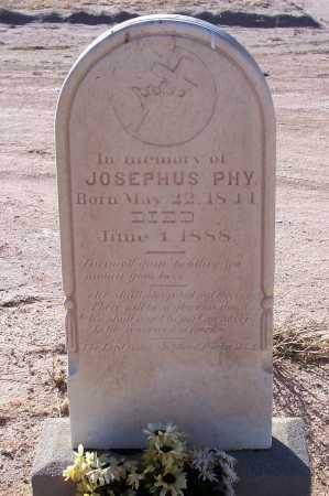 PHY, JOSEPHUS - Pinal County, Arizona   JOSEPHUS PHY - Arizona Gravestone Photos