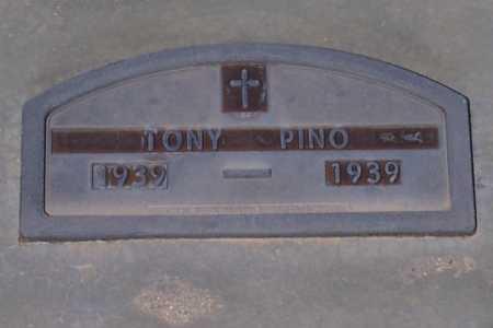 PINO, TONY - Pinal County, Arizona   TONY PINO - Arizona Gravestone Photos