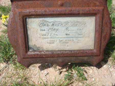 POTTS, MRS. RUTH A. - Pinal County, Arizona   MRS. RUTH A. POTTS - Arizona Gravestone Photos