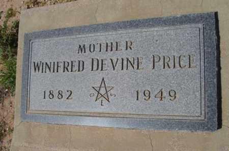 PRICE, WINIFRED - Pinal County, Arizona | WINIFRED PRICE - Arizona Gravestone Photos