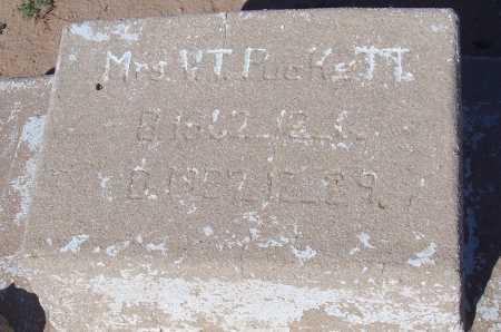 PUCKETT, V.T. - Pinal County, Arizona | V.T. PUCKETT - Arizona Gravestone Photos