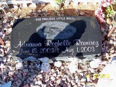 RAMIREZ, ADRIANNA ROCHELLE - Pinal County, Arizona   ADRIANNA ROCHELLE RAMIREZ - Arizona Gravestone Photos