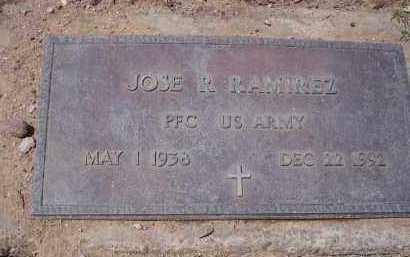 RAMIREZ, JOSE R. - Pinal County, Arizona | JOSE R. RAMIREZ - Arizona Gravestone Photos