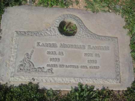 RAMIREZ, KARREL MICHELLE - Pinal County, Arizona | KARREL MICHELLE RAMIREZ - Arizona Gravestone Photos