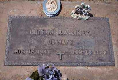 RAMIREZ, LUIS M. - Pinal County, Arizona   LUIS M. RAMIREZ - Arizona Gravestone Photos