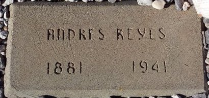 REYES, ANDRES - Pinal County, Arizona   ANDRES REYES - Arizona Gravestone Photos
