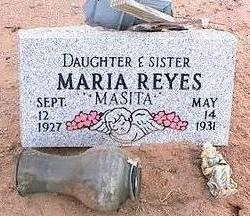 REYES, MARIA - Pinal County, Arizona | MARIA REYES - Arizona Gravestone Photos