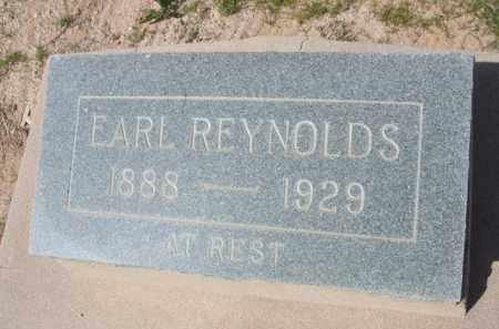 REYNOLDS, EARL - Pinal County, Arizona   EARL REYNOLDS - Arizona Gravestone Photos