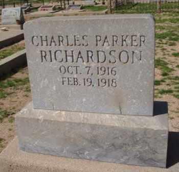 RICHARDSON, CHARLES PARKER - Pinal County, Arizona | CHARLES PARKER RICHARDSON - Arizona Gravestone Photos