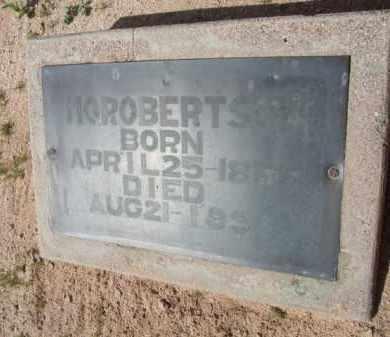 ROBERTSON, H. O. - Pinal County, Arizona   H. O. ROBERTSON - Arizona Gravestone Photos