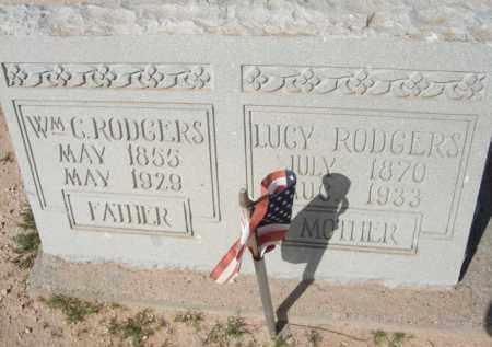 RODGERS, LUCY - Pinal County, Arizona   LUCY RODGERS - Arizona Gravestone Photos