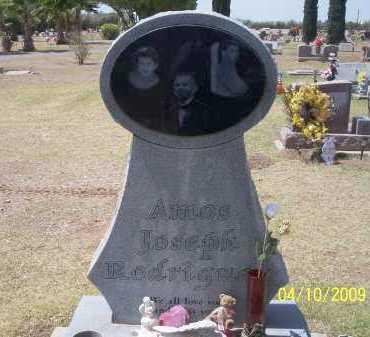 RODRIGUEZ, AMOS JOSEPH - Pinal County, Arizona   AMOS JOSEPH RODRIGUEZ - Arizona Gravestone Photos