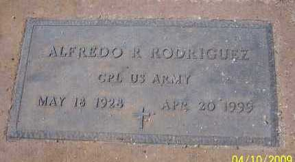 RODRIGUEZ, ALFREDO R. - Pinal County, Arizona   ALFREDO R. RODRIGUEZ - Arizona Gravestone Photos