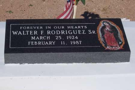 RODRIGUEZ, WALTER F. SR - Pinal County, Arizona   WALTER F. SR RODRIGUEZ - Arizona Gravestone Photos