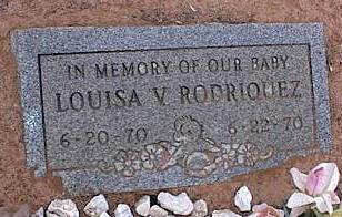 RODRIQUEZ, LOUISA V. - Pinal County, Arizona | LOUISA V. RODRIQUEZ - Arizona Gravestone Photos