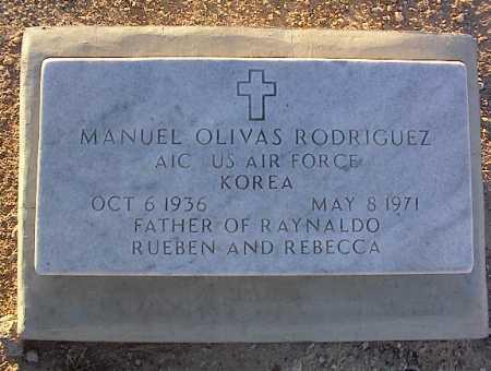 RODRIQUEZ, MANUEL OLIVAS - Pinal County, Arizona   MANUEL OLIVAS RODRIQUEZ - Arizona Gravestone Photos