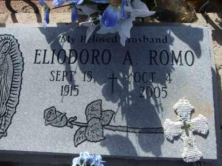 ROMO, ELIODORO A. - Pinal County, Arizona   ELIODORO A. ROMO - Arizona Gravestone Photos