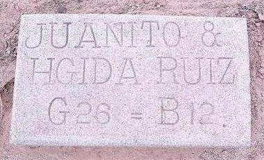 RUIZ, JUANITO - Pinal County, Arizona | JUANITO RUIZ - Arizona Gravestone Photos