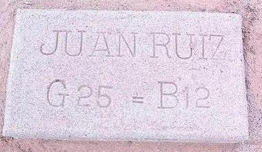 RUIZ, JUAN - Pinal County, Arizona | JUAN RUIZ - Arizona Gravestone Photos