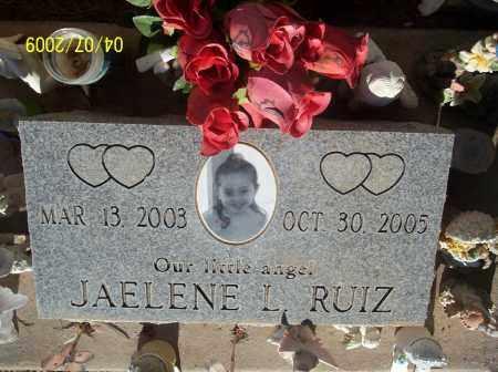 RUIZ, JAELENE - Pinal County, Arizona | JAELENE RUIZ - Arizona Gravestone Photos