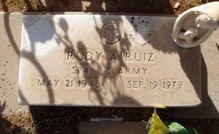 RUIZ, RUDY A. - Pinal County, Arizona   RUDY A. RUIZ - Arizona Gravestone Photos