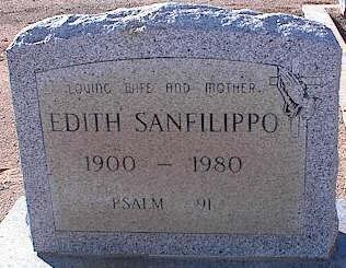 SAN FILIPPO, EDITH - Pinal County, Arizona | EDITH SAN FILIPPO - Arizona Gravestone Photos