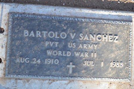 SANCHEZ, BARTOLO V. - Pinal County, Arizona   BARTOLO V. SANCHEZ - Arizona Gravestone Photos