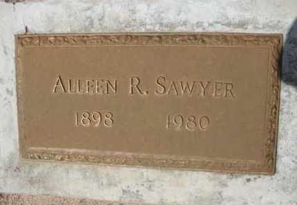 SAWYER, ALLEEN R. - Pinal County, Arizona   ALLEEN R. SAWYER - Arizona Gravestone Photos