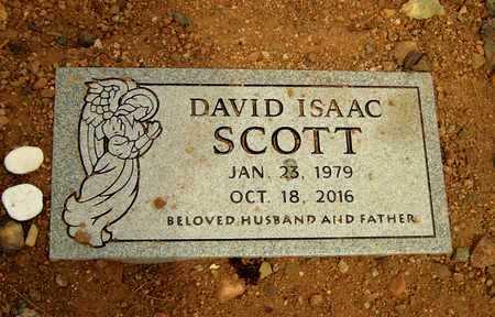 SCOTT, DAVID ISSAC - Pinal County, Arizona | DAVID ISSAC SCOTT - Arizona Gravestone Photos
