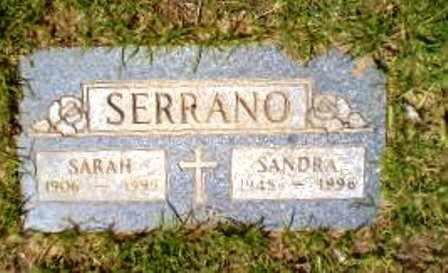 SERRANO, SARAH - Pinal County, Arizona | SARAH SERRANO - Arizona Gravestone Photos