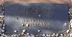 WILLIAMS, LILLIAN L. - Pinal County, Arizona   LILLIAN L. WILLIAMS - Arizona Gravestone Photos