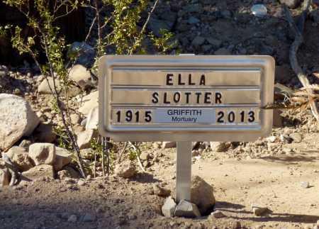 SLOTTER, ELLA - Pinal County, Arizona | ELLA SLOTTER - Arizona Gravestone Photos