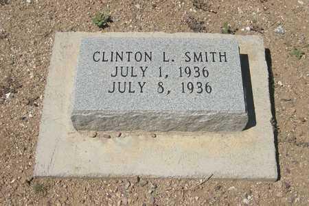 SMITH, CLINTON   LOVERNE - Pinal County, Arizona | CLINTON   LOVERNE SMITH - Arizona Gravestone Photos