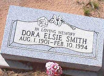 SMITH, DORA ELSIE - Pinal County, Arizona | DORA ELSIE SMITH - Arizona Gravestone Photos