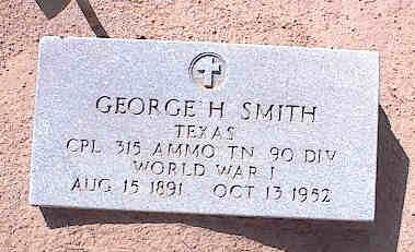 SMITH, GEORGE HARVEY - Pinal County, Arizona   GEORGE HARVEY SMITH - Arizona Gravestone Photos