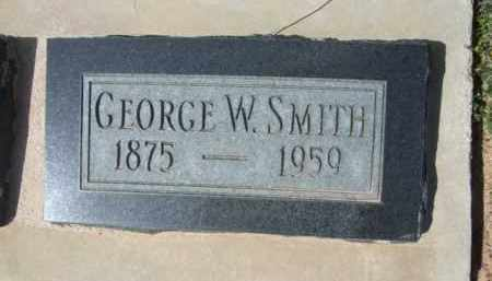 SMITH, GEORGE W. - Pinal County, Arizona | GEORGE W. SMITH - Arizona Gravestone Photos