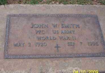 SMITH, JOHN W. - Pinal County, Arizona | JOHN W. SMITH - Arizona Gravestone Photos