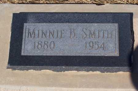 SMITH, MINNIE B. - Pinal County, Arizona | MINNIE B. SMITH - Arizona Gravestone Photos
