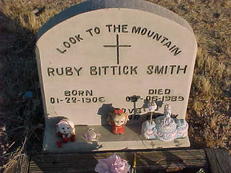 BITTICK SMITH, ELMA RUBY - Pinal County, Arizona | ELMA RUBY BITTICK SMITH - Arizona Gravestone Photos