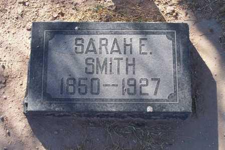 SMITH, SARAH E. - Pinal County, Arizona | SARAH E. SMITH - Arizona Gravestone Photos