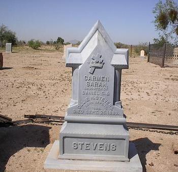 STEVENS, CARMEN SARAH - Pinal County, Arizona | CARMEN SARAH STEVENS - Arizona Gravestone Photos