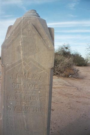 STOWE, JAMES L. - Pinal County, Arizona | JAMES L. STOWE - Arizona Gravestone Photos