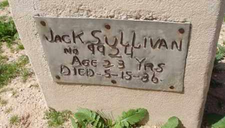 SULLIVAN, JACK - Pinal County, Arizona | JACK SULLIVAN - Arizona Gravestone Photos